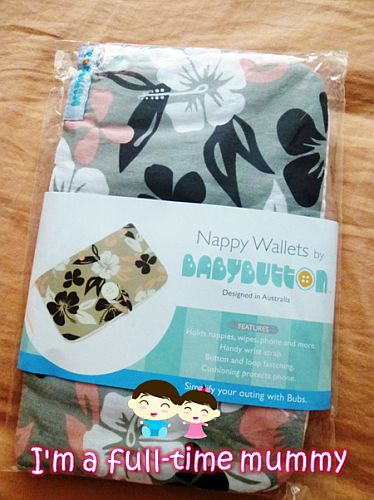 BabyButton Nappy Wallet