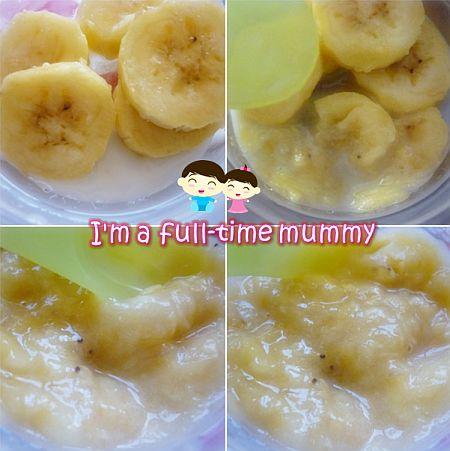 Banana Puree For Cake