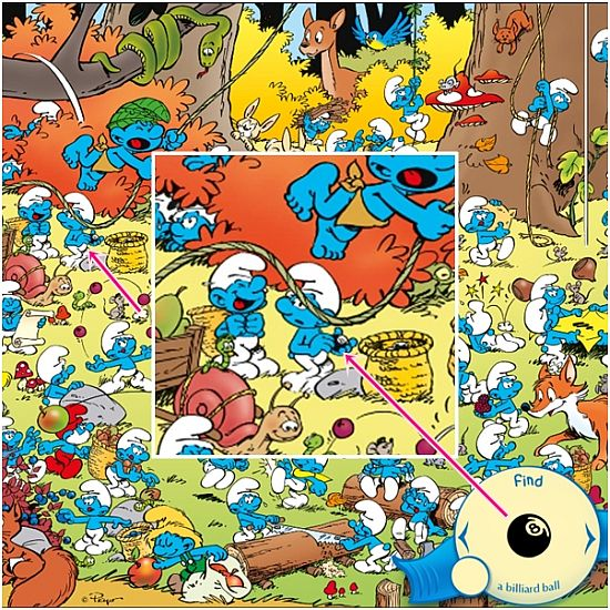 The Smurfs Hide & Seek with Brainy