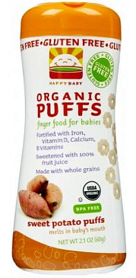 Organic puffs for babies