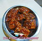 Steamed Pork Ribs in Plum Sauce