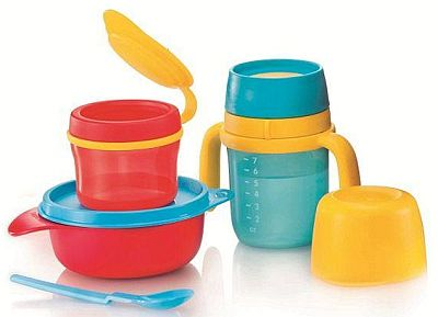 how to get stains out of tupperware bowls
