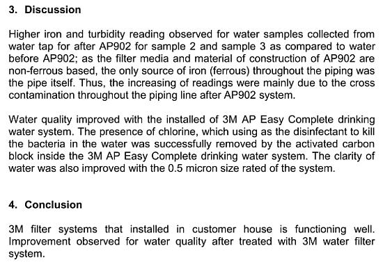3M Water Filter Systems
