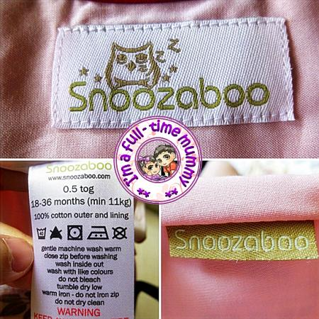 Snoozaboo Baby Sleep Bag