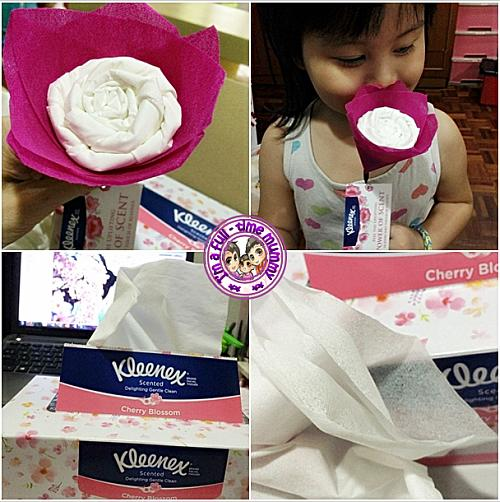 Kleenex 3-Ply Scented Facial Tissues