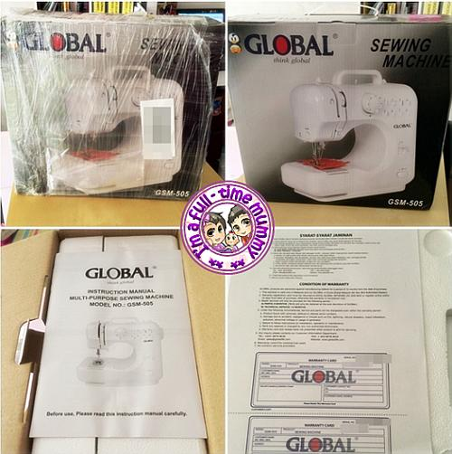 Global Sewing Machine GSM-505