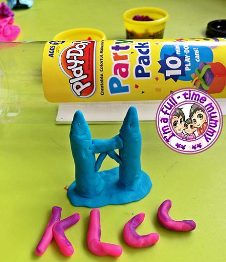 Play-Doh Shape a Colourful Community