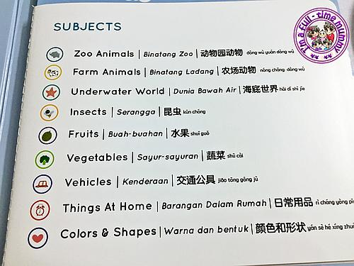 Press-and-Learn English Malay Chinese Words Sound Book